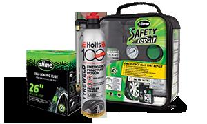 Slime – opravy pneu