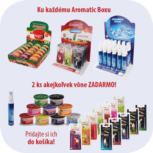 Aromatic boxy Akcie