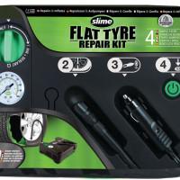 Automatická opravná sada Slime Flat Tyre Repair Kit – pro defekty osobních vozů