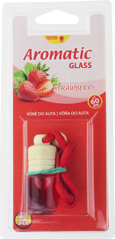 Aromatic Glass Strawberry – jahoda