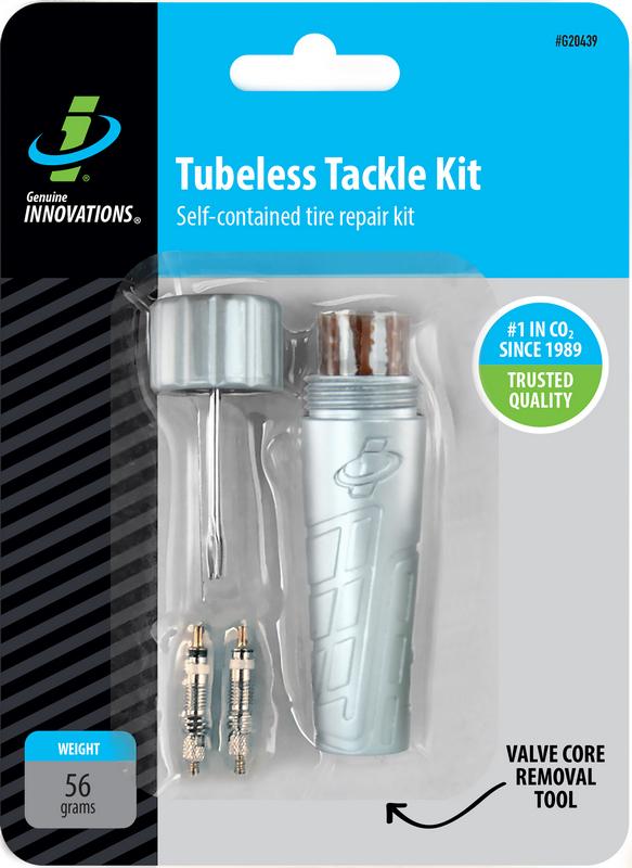 Tubeless Tackle Kit – opravná sada pro bezdušové cyklo pláště