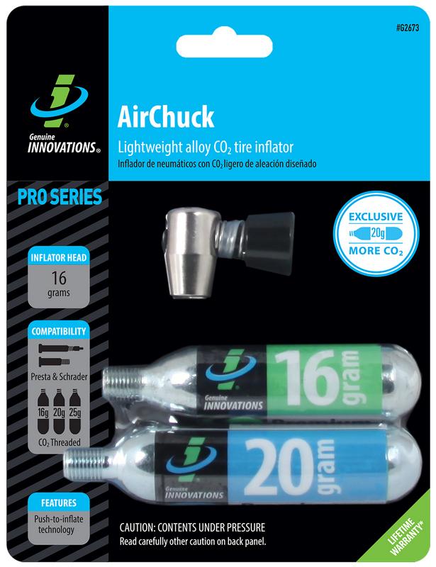 Air Chuck – cyklo hustilka CO2