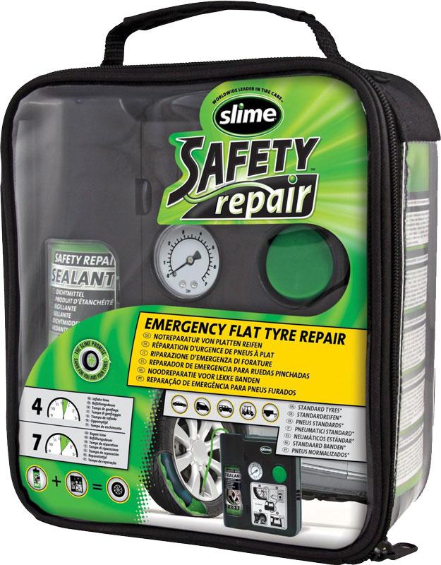 Automatická opravná sada Slime Safety Repair – pro defekty osobních vozů