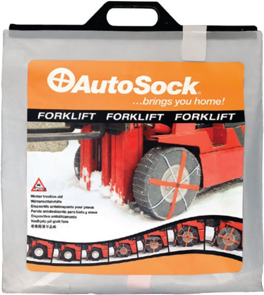 AutoSock AF20 – textilní sněhové řetězy pro vysokozdvižné vozíky